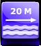 distanza spiaggia : circa 20 metri